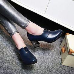 傾城 - 粗跟高跟鞋