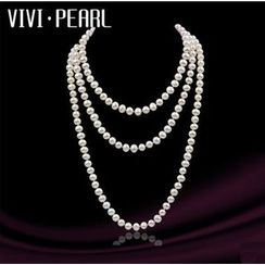 ViVi Pearl - Multi-Strand Freshwater Pearl Necklace