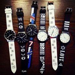 Bingle - Printed Strap Watch