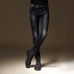 2RZ - Washed Slim-Fit Jeans