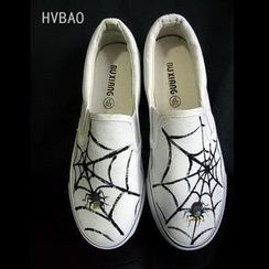 HVBAO - Canvas Slip-Ons