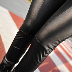 Kally Kay - Faux-Leather Leggings