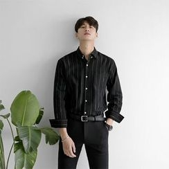 Seoul Homme - Pinstriped Shirt