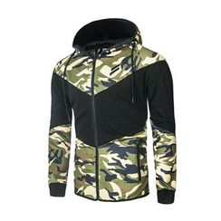 Blueforce - Hooded Sport Zip Jacket