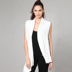 Almaz.C Lifestyle - Open-Front Long Vest