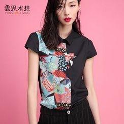 Cloudwood - Print Short-Sleeve Shirt