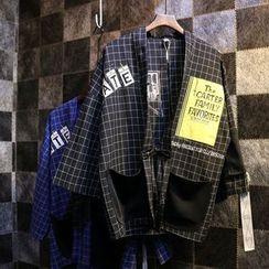 Jade Rabbit - Check Kimono Jacket