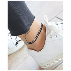 Miss21 Korea - Braided Yarn Anklet