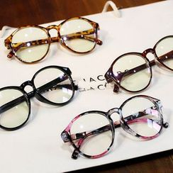 GLAMAX - Retro Round Glasses Frame