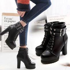 Sunsteps - High Heel Short Boots