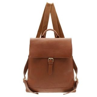 HSTYLE - Belted Flap Backpack