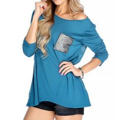 Dream a Dream - 3/4-Sleeve Slit T-Shirt