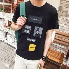 ZZP HOMME - Applique T-Shirt