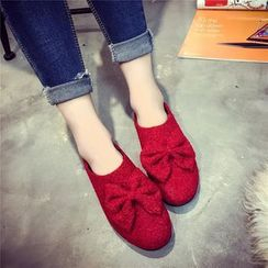 Yoflap - Bow Accent Slip-Ons