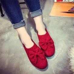 楊董 - 蝴蝶結裝飾輕便鞋