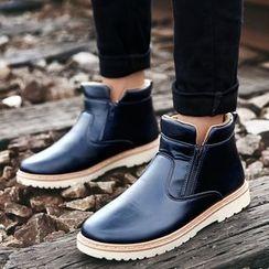 Main Road - Zip Short Boots