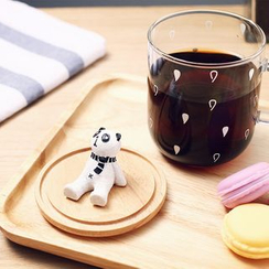 La Vie - Animal-Accent Lid & Mug