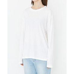 Someday, if - Crewneck Drop-Shoulder T-Shirt