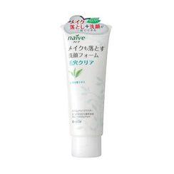 Kracie - Kracie Naive 清除毛孔污垢卸粧洗面膏 (綠茶)
