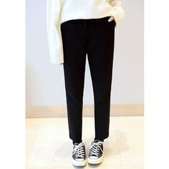 DEEPNY - Flat-Front Tapered Pants
