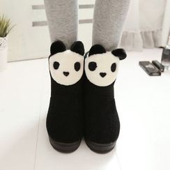 JY Shoes - Panda Home Boots