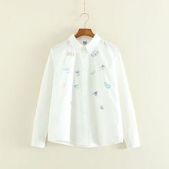 Mushi - Embroidered Blouse