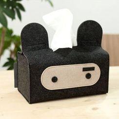Full House - Rabbit  Tissue Box