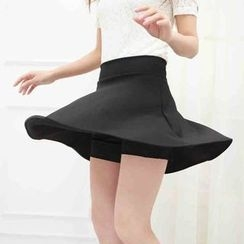Loverac - Half-Length Pleated Short Skirts