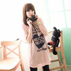 Tokyo Fashion - Printed Hooded Top