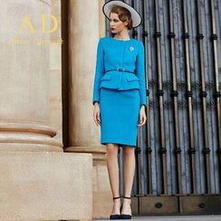 艾尚臣 - 套裝: 西裝 + 鉛筆裙