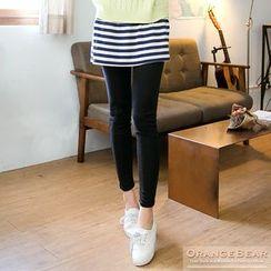 OrangeBear - Inset Miniskirt Leggings