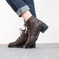 VIVIER - Lace-Up Ankle Boots