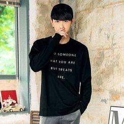 MEOSIDDA - Lettering Sweatshirt