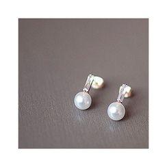 MASoeur - Faux-Pearl Earrings