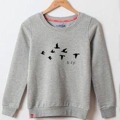 Onoza - 鳥兒印花套頭衫