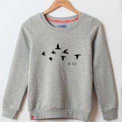 Onoza - Bird Print Pullover