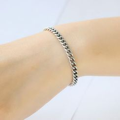 Blinglitz - Chain Open Bangle