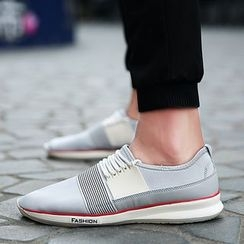 Preppy Boys - Striped Sneakers