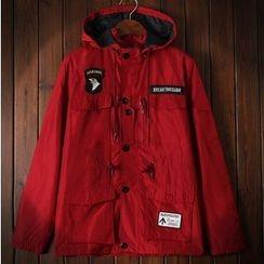 Bigboy - Applique Hooded Jacket