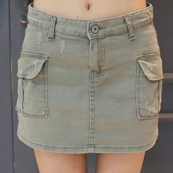 DANI LOVE - Cargo-Pocket Mini Skort