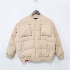 蔡先生 - 印花夹棉夹克
