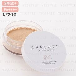 Chacott - Plants Powder Foundation SPF 50+ PA++++ (#333 Natural Ocher)
