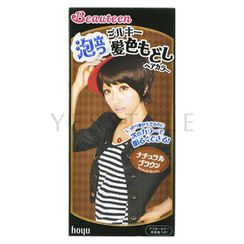 hoyu - Beauteen Bubble Hair Color #Natural Brown