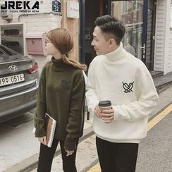 Jacka - Couple Matching High Neck Sweater