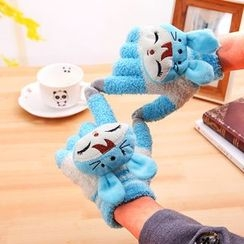 Showroom - Cartoon Fleece Gloves