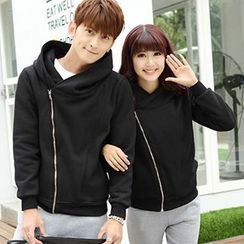 Igsoo - Couple Zip-up Hoodie