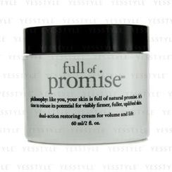 Philosophy - Full Of Promise Dual-Action Restoring Cream For Volume and Lift