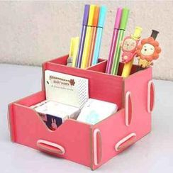Homeware Bliss - Wooden Desk Organizer