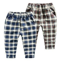 Kido - Kids Plaid Pants