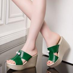 Hannah - 墜飾涼鞋